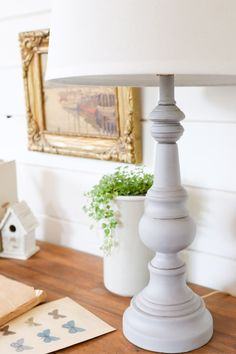 Refinished Table Lamp |This Mamas Dance-1