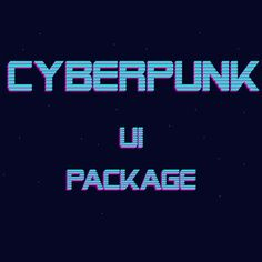 Cyberpunk, Game Assets, Pixel Art, Game Art, Futuristic, Packaging, Neon Signs, Ideas