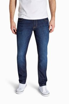 Dark Wash Jeans With Stretch from Next