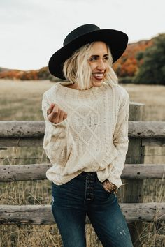 Wayland Cable Knit Sweater | ROOLEE