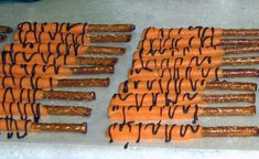 "I'm going to make ""Tiger Tail"" pretzels"