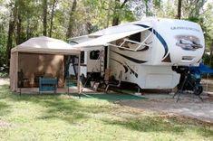 full time camper setup