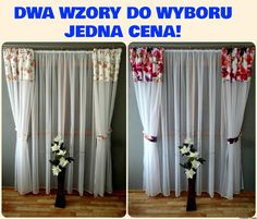 Komplet Firan i Zasłon z WOALU 240x500 do Sypialni Salonu BALKON Curtains, Home Decor, Drawing Rooms, Insulated Curtains, Homemade Home Decor, Blinds, Draping, Decoration Home, Drapes Curtains
