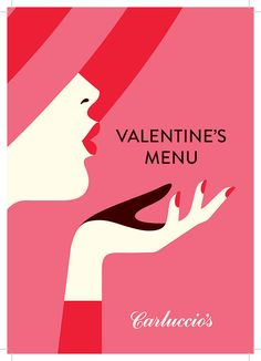 VALENTINE'S DAY 2015 poster for Carluccio's Restaurants in London, England by Malika Favre with her iconic lips blowing a kiss Flat Illustration, Graphic Design Illustration, Digital Illustration, Valentines Day Drawing, Valentines Design, Valentinstag Poster, Valentine Poster, Valentines Illustration, Valentine's Day Poster