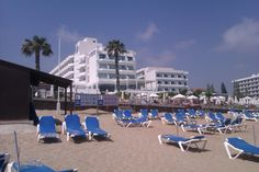Silver Sands Hotel, Protaras, Cyprus Sands Hotel, Cyprus, Dolores Park, Spaces, Holidays, Silver, Travel, Holidays Events, Viajes