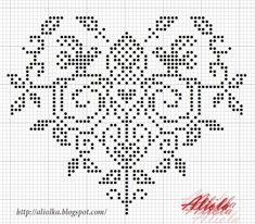Chez Mounette Cross Stitch Boards, Just Cross Stitch, Cross Stitch Heart, Cross Stitch Samplers, Embroidery Hearts, Blackwork Embroidery, Cross Stitch Embroidery, Quilt Stitching, Cross Stitching