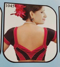 Patch Work Blouse Designs, Blouse Back Neck Designs, Designer Blouse Patterns, Fancy Blouse Designs, Bridal Blouse Designs, Saree Blouse Designs, Black Saree Blouse, Indian Blouse, Blouse Models