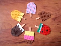 Ice cream perler beads by bagncraft