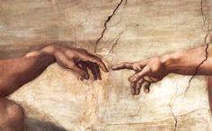Michelangelo buonarroti - creazione di adamo.