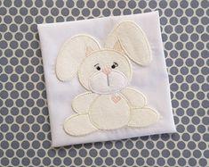 Applique Machine Embroidery Design Teddy by BabyEmbroideryShop