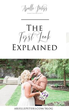 Should you do a First Look on your wedding day? Check this post out to be educated on why it might be the best decision for your big day!