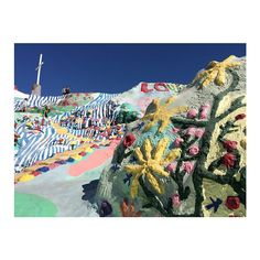 Made it to Salvation Mountain and East Jesus! Now onto the dunes.