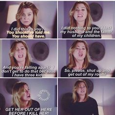 Ellen Pompeo plays such a great widow, so real, so devastated, so heartbreaking