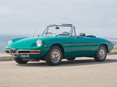 And ill take one of these in that color...1969 Alfa Romeo 1750 Spider Veloce
