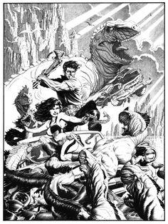 Mark Schultz Xenozoic Tales