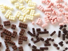 chocolate legos!