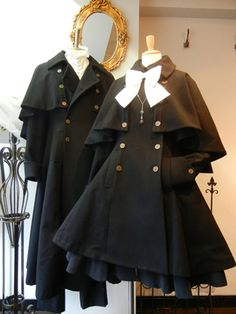 Caped Lolita coats-Men's and Women's