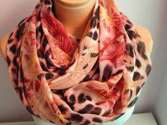 Infinity Scarf,Shawl Circle Scarf,Loop scarf by madamesoho