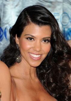 Kourtney Kardashian makeup