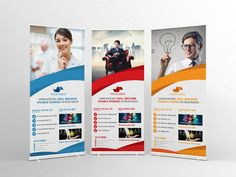 Business Roll-Up Banner by Cristal Pioneer on Creative Market