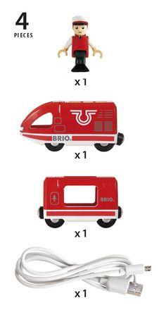 Train de voyageur rechargeable - BRIO
