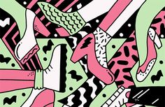 Kate Prior's illustrations are boisterous and colourful
