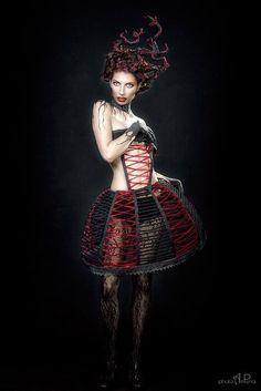 Makeup Project  Ph.: Andrea Peria Model: Alice  Makeup Design by Gloria Bordin Art 906