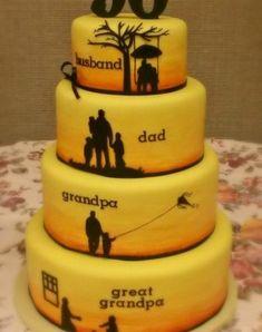 70Th Birthday Cake Ideas For Grandpa #BirthdayCakes http://ift.tt/2DAOiaO