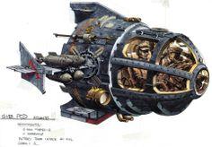 """Atlantis: The Lost Empire"" vehicle design."