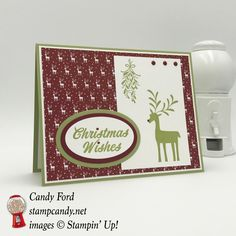 Merry Mistletoe Christmas in July with InKing Royalty - https://stampcandy.net/cards/merry-mistletoe-christmas-july-2017-inking-royalty/