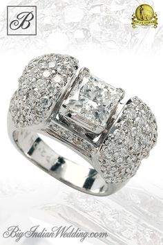 Beautiful #Popley Eternal diamond Wedding ring www.weddingsonline.in