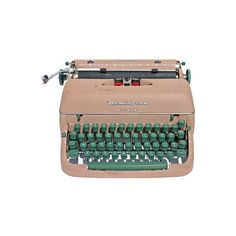 Typewriter Museum (16150 RSD) ❤ liked on Polyvore featuring fillers, accessories, decor, stuff, pink, quotes, phrase, saying i text