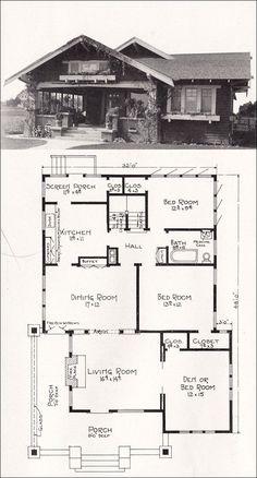 1918 representative california homes by ew stillwell, design #R-854