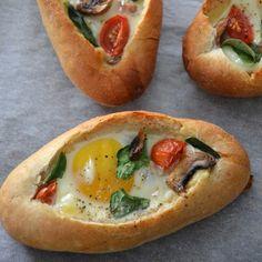 Unieke combinatie: broodje met ei | Neff