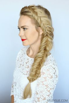 11 Unique Fishtail Braid Hairstyles With Tutorials And Ideas ...