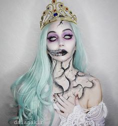 Ashes to ashes...👻💀🌪 Ghost of the White Queen. #halloween #makeup