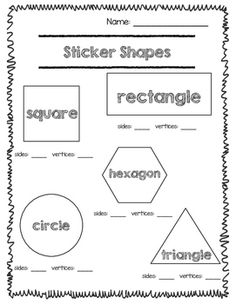 2d shapes sides and vertices kindergarten math shapes worksheets fourth grade math. Black Bedroom Furniture Sets. Home Design Ideas