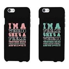 Funny BFF Phone Cases Freak and Weirdo Phone Covers for Apple Iphone Iphon . - Funny BFF Phone Cases Freak and Weirdo Phone Covers for Apple Iphone Iphone … - Best Friend Cases, Bff Cases, Friends Phone Case, Funny Phone Cases, Cute Cases, Ipod Cases, Iphone Phone Cases, Galaxy Phone Cases, Best Phone Cases