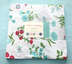 10 inch squares Layer Cake  COLOR ME HAPPY Moda by quilttaffy, $32.95