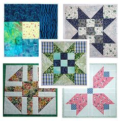Assorted Quilt Block Patterns   there are several free blocks here