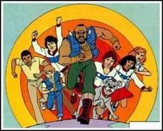 Mr. T left the kick ass A-Team to coach gymnastics. Never understood that one.