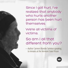 """""""We're all victims of victims"""""""