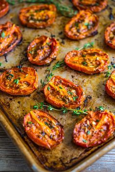 Roasted Roma Tomatoes | Southern Boy Dishes                                                                                                                                                                                 More Side Dish Recipes, Vegetable Recipes, Vegetarian Recipes, Cooking Recipes, Healthy Recipes, Veggie Food, Cooking Tips, Vegetable Soups, Fruit Food