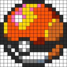 Fastball Perler Bead Pattern / Bead Sprite