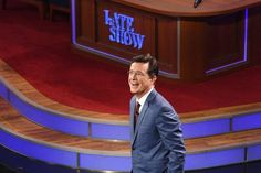 Review: Stephen Colbert Brings a Winning Personality to CBS's 'The Late Show'   - The Atlantic