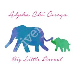 Big always knows best | Alpha Chi Omega | Made by University Tees | www.universitytees.com