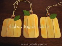 shaken together: {create this friday} happy fall & boo-to-you shabby tag banners