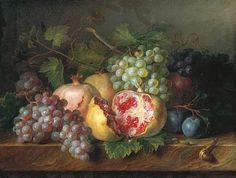 Cornelis van Spaendonck  Fruit Still Life  18th century