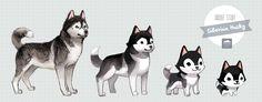 Doodle Study: Siberian Husky — Thousand Skies
