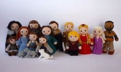 Kati's crocheted Game of Thrones characters are amazing!